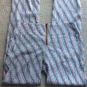 Acacia Swimwear Ziggy Print Silk Pants